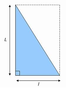 L Longueur Ou Largeur : aire et surface d 39 un triangle rectangle ~ Medecine-chirurgie-esthetiques.com Avis de Voitures