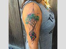 65 Tatuagens de Árvores Impressionantes e Inspiradoras