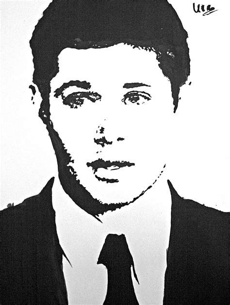 30 Black And White Pop Art Paintings