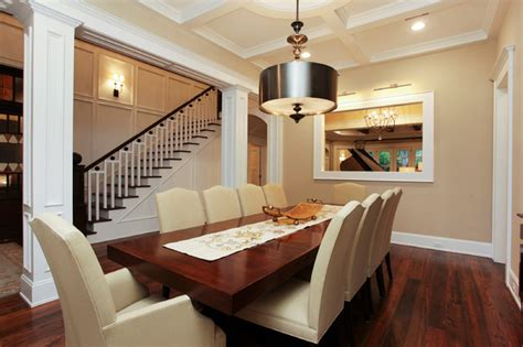 Memorial Hamptons Style  Traditional  Dining Room