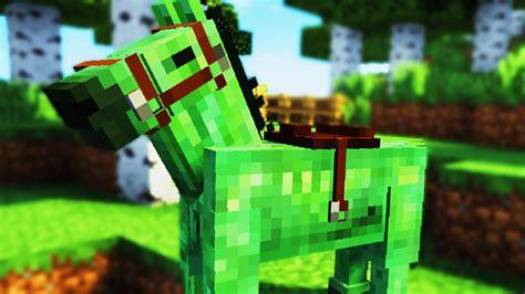 jak oswoic konia zombie  minecraft  youtube