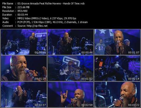 Richie Havens Groove Armada by Groove Armada Feat Richie Havens Of Time Live From