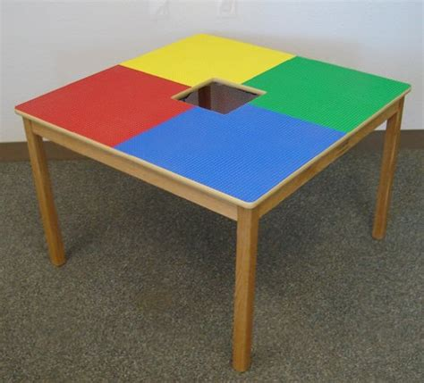 lego compatible small grid play table with solid oak legs 562 | 51P5rvnsS L