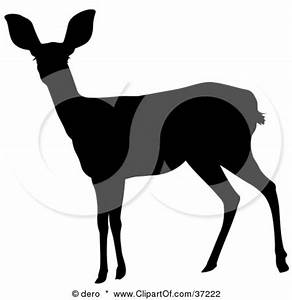 doe silhouette | printables | Pinterest