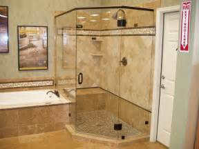 Hinged Glass Shower Doors by Custom Glass Shower Doors Design Installation Repair