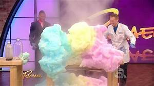 Exploding Foam Science On Rachael Ray With Jeff Vinokur