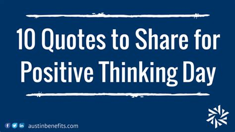quotes  share  positive thinking day austin
