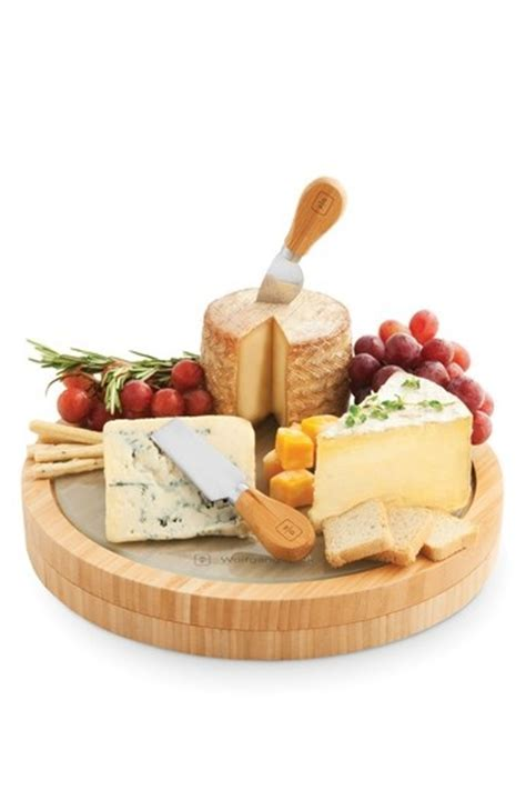 Wolfgang Puck 5 Piece Cheese Board Set   To Buy