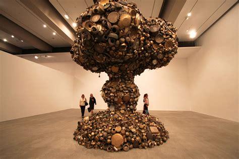 giant mushroom cloud   pots  pans recyclenation