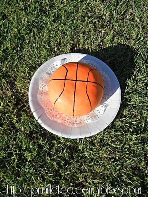 cours de cuisine entre copines gateau ballon de basket basketball cake prunille fait
