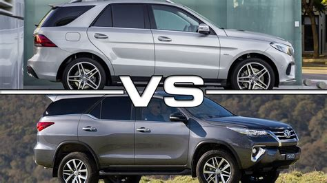 Merced Toyota by 2016 Mercedes Gle Vs 2016 Toyota Fortuner