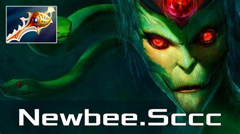 newbee sccc medusa mid mar 5 2018 dota 2 patch 7 10 gameplay youtube