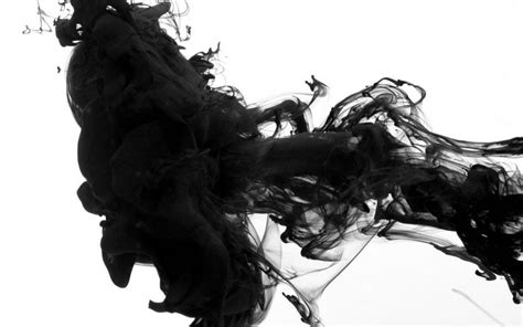 black smoke white background abstract wallpaper 3d