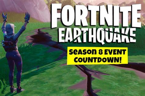 fortnite earthquake event tracker