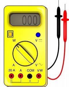 Ohmmeter  Ohmmeter And Voltmeter Symbols