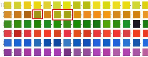 colors that match green recognizing matching colors in a grid from a
