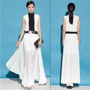 robe femme noir et blanche elegante robe de soiree With robe élégante femme