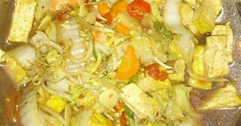 60 gr (6 sdm) terigu : Resep Tumis Tahu Sayur Kuah pedas oleh Dian Sudiyanti ...
