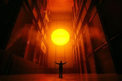 Olafur Eliasson Sun by The Weather Project And Electronic Media