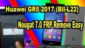 Huawei Bll L22 Nougat 7 0 Frp Remove Easy