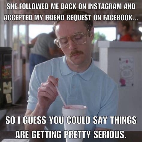 Meme Dating - kip napoleon dynamite facebook instagram dating funny meme memes pinterest napoleon