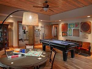 Basement game room ideas family room traditional with wood