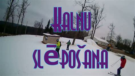 SKI Kalnu slēpošana 2018-2019 LATVIJA Ski Ozolkalns - YouTube
