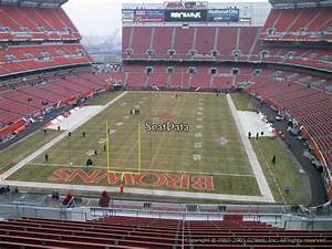 Cleveland Browns Stadium Seating Chart First Energy Stadium Section 321 Rateyourseats Com
