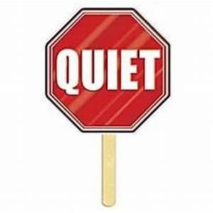 Quiet Please Sign Clipart - Clipart Suggest