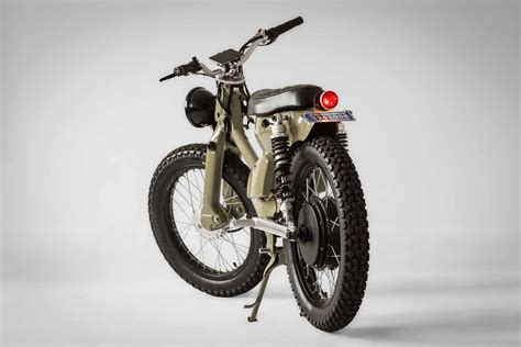 A Retro Electric Motorcycle By Shanghai Customs