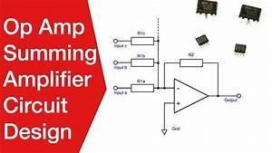 Op Amp Summing Amplifier