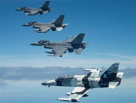 draken deploys  radar equipped   aircraft  support