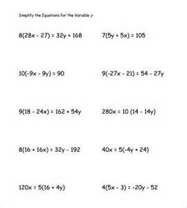 Algebra Beginner Worksheets 14 Simple Algebra Worksheet Templates Free Word Pdf Documents Free Premium