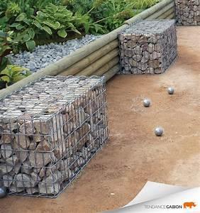 Kit A Gabion : gabions kit 6 faces 1x0 5x0 5 contemporain jardin ~ Premium-room.com Idées de Décoration
