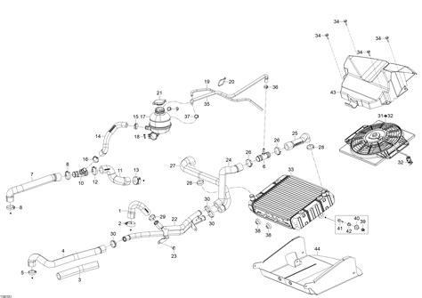 Skandic Wiring Diagram by каталог запчастей для Brp Skandic Wt 900 Ace 2015 года