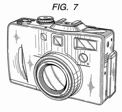 Camera Drawing Sketch Coloring Template Galleryhip Credit