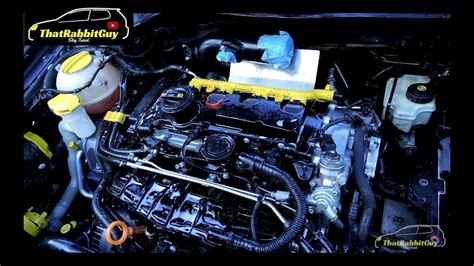 cleaning  mk gti engine bay youtube