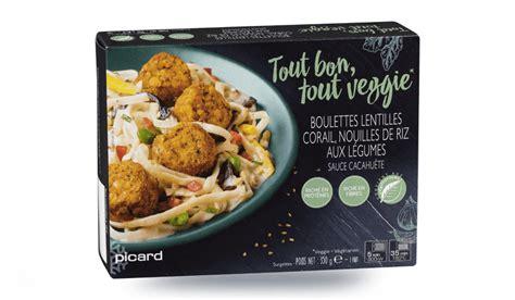plat cuisiné picard boulettes lentilles corail nouilles de riz aux légumes