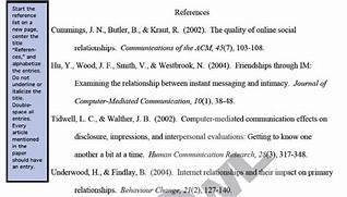 Figure 1 Image Of APA References Page Reprinted From Purdue Online Example Of A Journal Article Review In Apa Format Cover Letter Mla Cite Format Newspaper Article Online Apa Journal Citation Example The Printed References Style Journal Name And Volume Is Italic How
