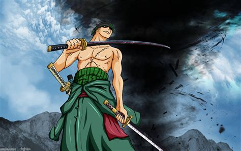 Zoro's True Power Hd Wallpaper
