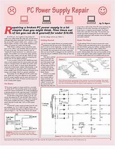 Psu  Power Supply Unit  Circuit Board Diagram And Repair