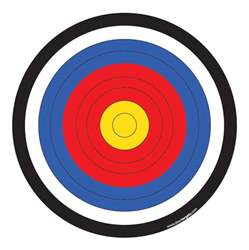 bow targets to print pictures to pin on pinsdaddy