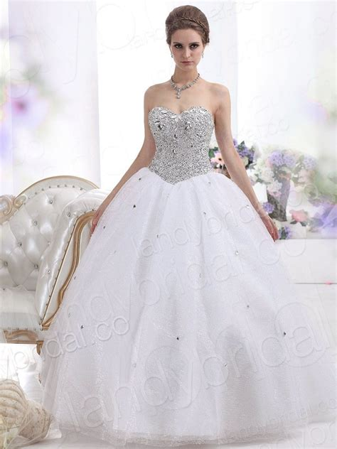Strapless Ball Gown Wedding Dresses  Stylish And Elegant