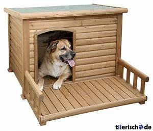 Hundehütte Mit Terrasse : hundeh tte mit terrasse von kerbl g nstig bestellen ~ Watch28wear.com Haus und Dekorationen