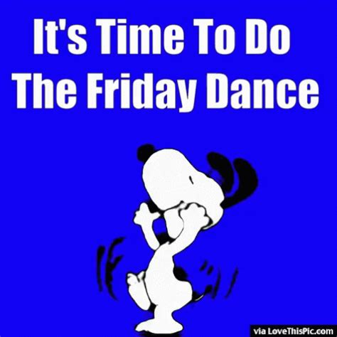 Friday Images Friday Snoopy Gif Friday Snoopy Happy Discover
