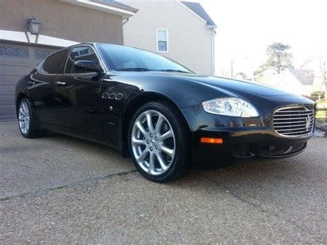 2008 Maserati Quattroporte For Sale by Purchase Used No Reserve 2008 Maserati Quattroporte M139