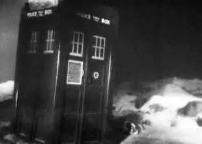 First Doctor Who TARDIS