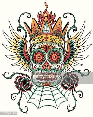 dia design 22 new dia de los muertos tattoos designs