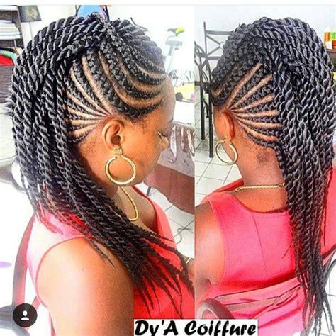 Cornrow Twist Hairstyles by Cornrow Twists Beautiful Extensions Hair Styles