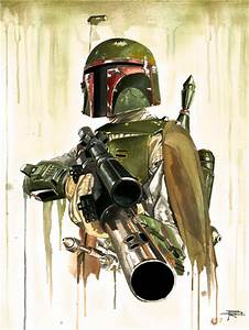 Contest: Enter to Win an Awesome BOBA FETT Art Piece ...